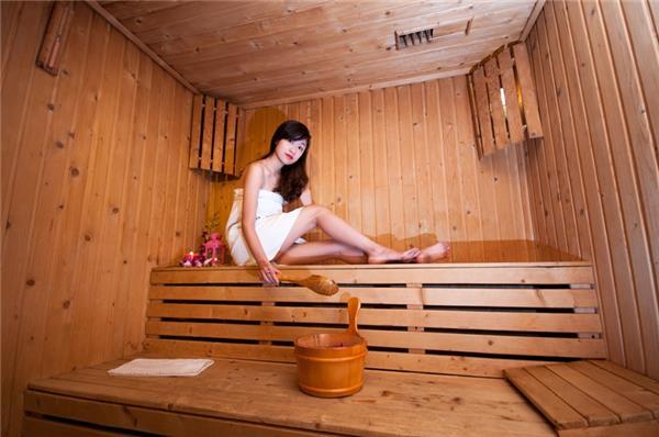 Phòng tắm xông hơi có nhiều tác dụng tốt cho sức khỏe
